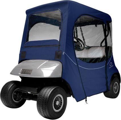 Classic Accessories Fairway FadeSafe E-Z-GO Navy Golf Cart Enclosure