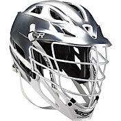 Cascade R Platinum Lacrosse Helmet w/ White Pearl Mask