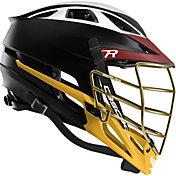 Cascade Custom R Matte Lacrosse Helmet w/ Gold Mask