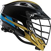 Cascade Custom R Carbon Fiber Lacrosse Helmet w/ Black Tungsten Mask