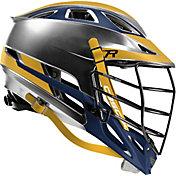Cascade Custom R Platinum Lacrosse Helmet w/ Tungsten Black Mask