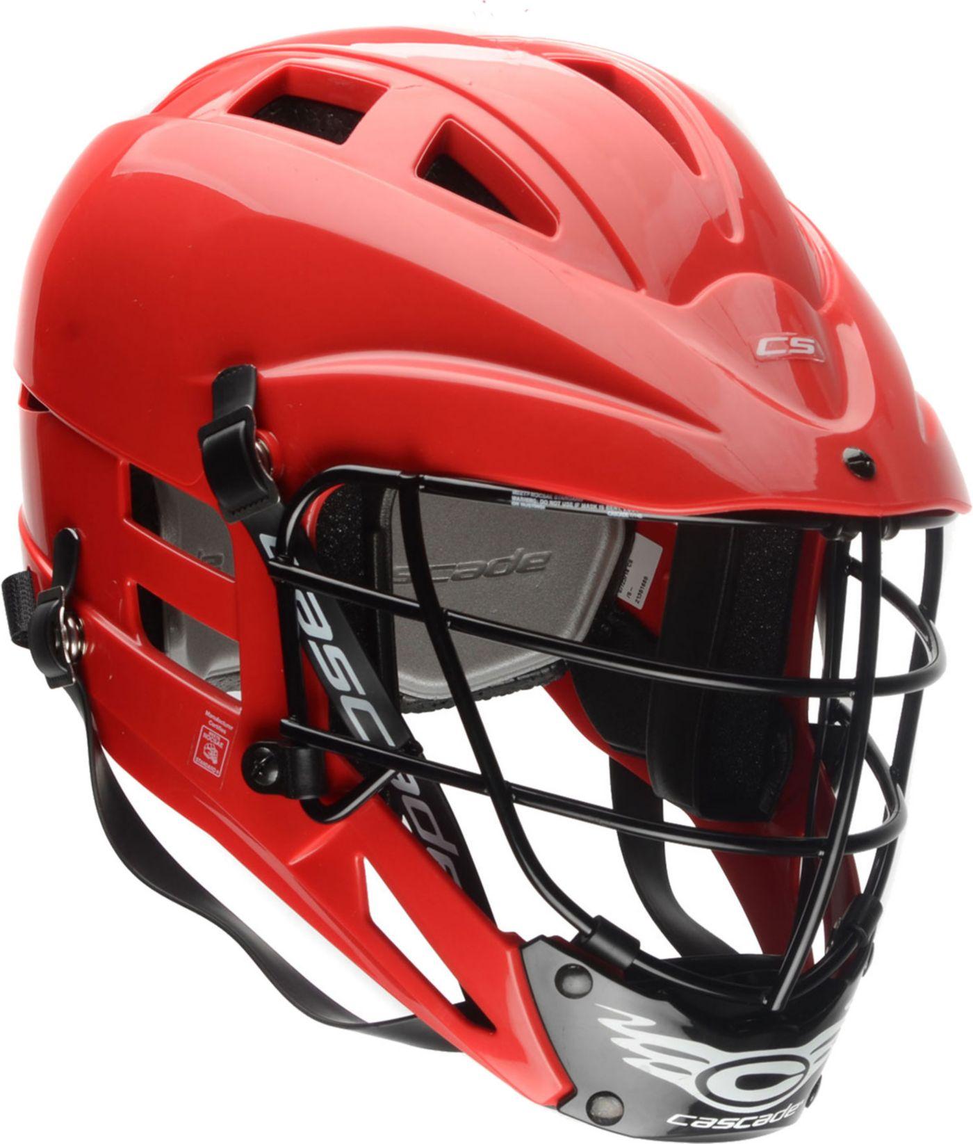 Cascade Youth CS-R Lacrosse Helmet w/ Silver Mask
