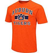 Colosseum Men's Auburn Tigers Orange Dual-Blend T-Shirt