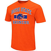 Colosseum Men's Boise State Broncos Orange Dual-Blend T-Shirt