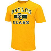 Colosseum Men's Baylor Bears Orange Dual-Blend T-Shirt