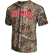 Colosseum Men's Ole Miss Rebels Camo Brow Tine T-Shirt