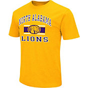 Colosseum Men's North Alabama Lions Gold Dual Blend T-Shirt