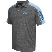 Chiliwear Men's UNC Tar Heels Grey Birdie Polo