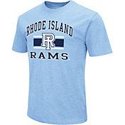 Colosseum Men's Rhode Island Rams Blue Dual Blend T-Shirt
