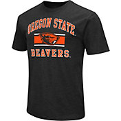 Colosseum Men's Oregon State Beavers Black Dual-Blend T-Shirt