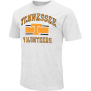 Colosseum Men's Tennessee Volunteers White Dual-Blend T-Shirt