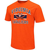 Colosseum Men's Virginia Cavaliers Orange Dual-Blend T-Shirt