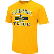 Colosseum Men's William & Mary Tribe Gold Dual Blend T-Shirt