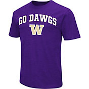 Colosseum Men's Washington Huskies Purple Team Slogan T-Shirt