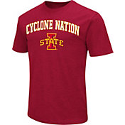 Colosseum Men's Iowa State Cyclones Cardinal Team Slogan T-Shirt
