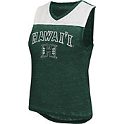 Colosseum Women's Hawai'i Rainbow Warriors Kiss Cam Tank