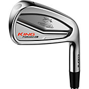 Cobra KING Pro Chrome Irons - (Steel)