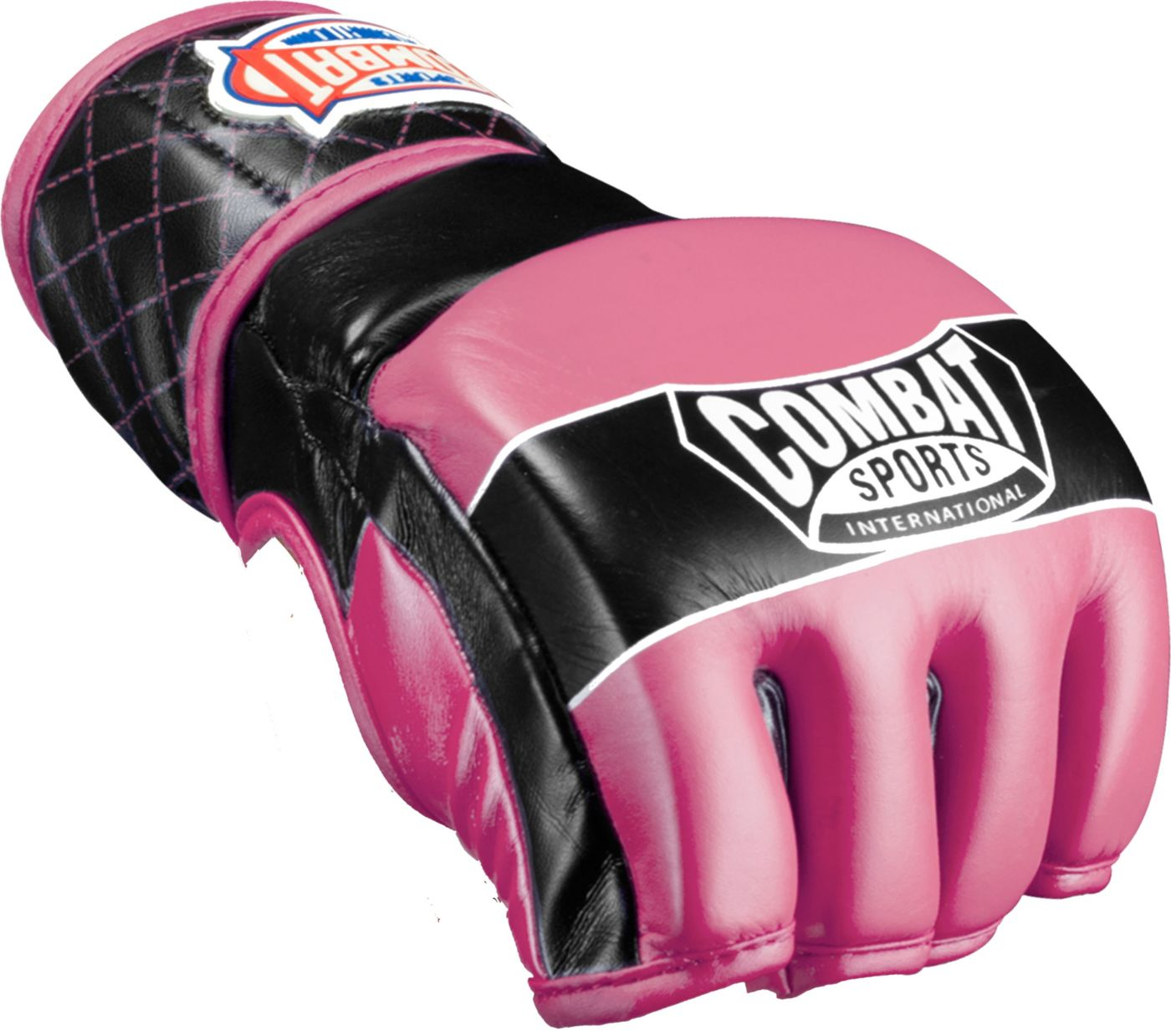 Combat Sports Junior Traditional MMA Fight Gloves- Pink