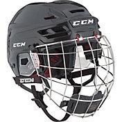 CCM Resistance 110 Ice Hockey Helmet Combo