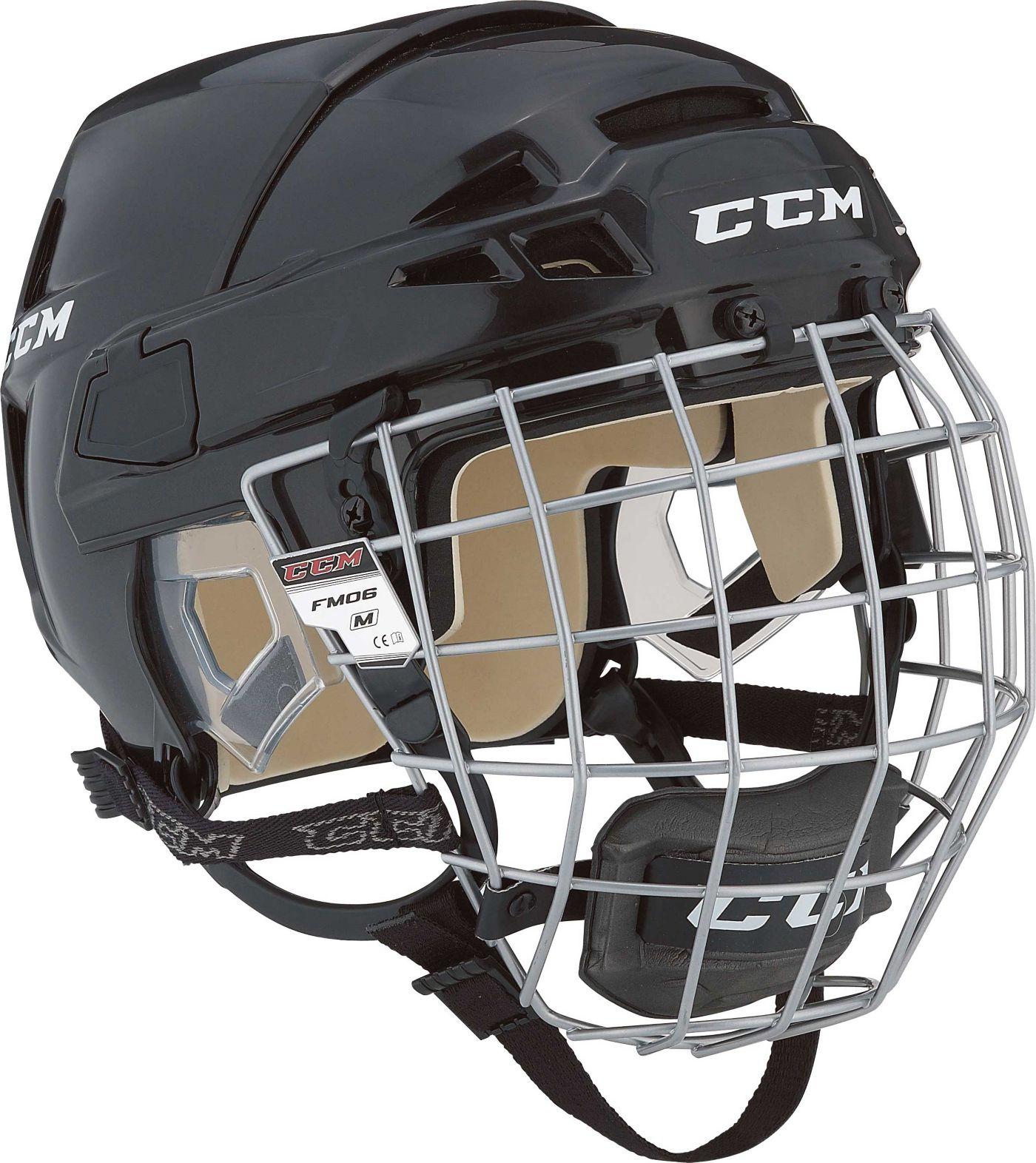CCM Vector 08 Ice Hockey Helmet Combo