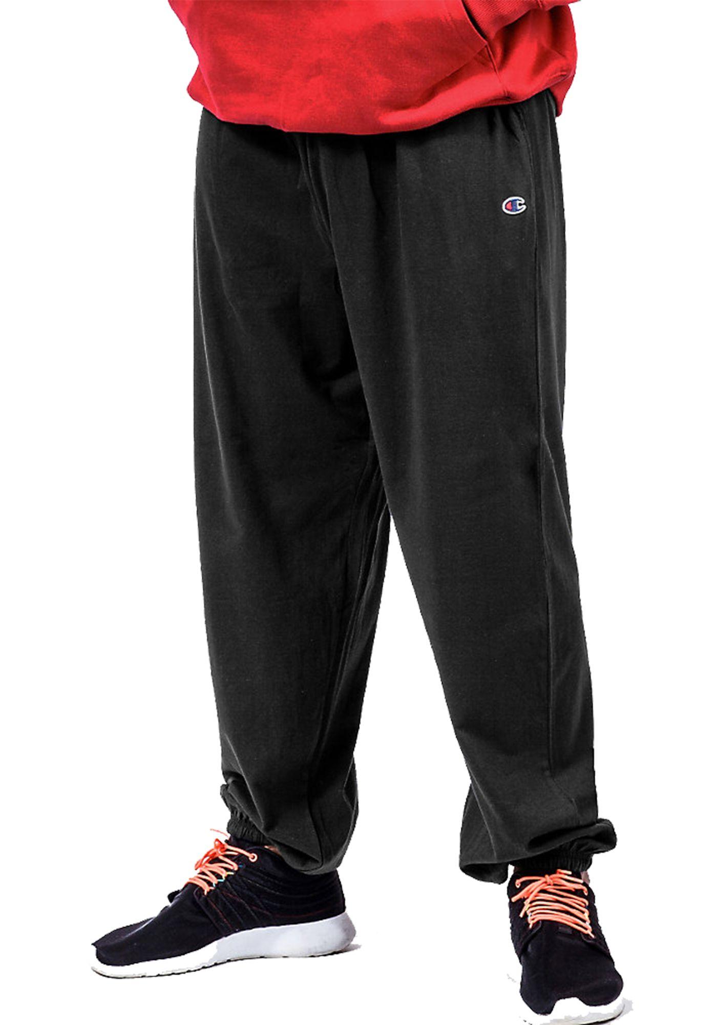 Champion Men's Big and Tall Fleece Pants (Regular and Big & Tall)