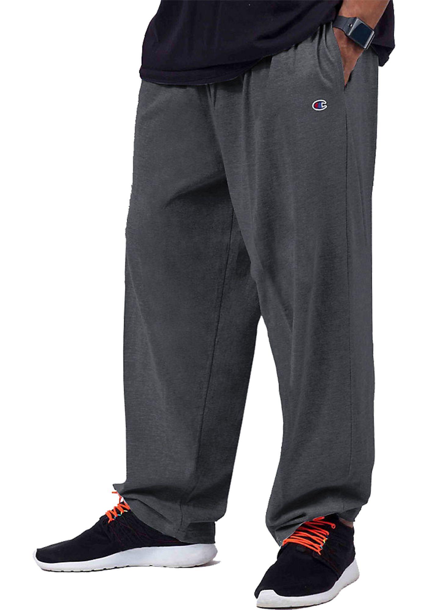 Champion Men's Big & Tall Jersey Pants (Regular and Big & Tall)