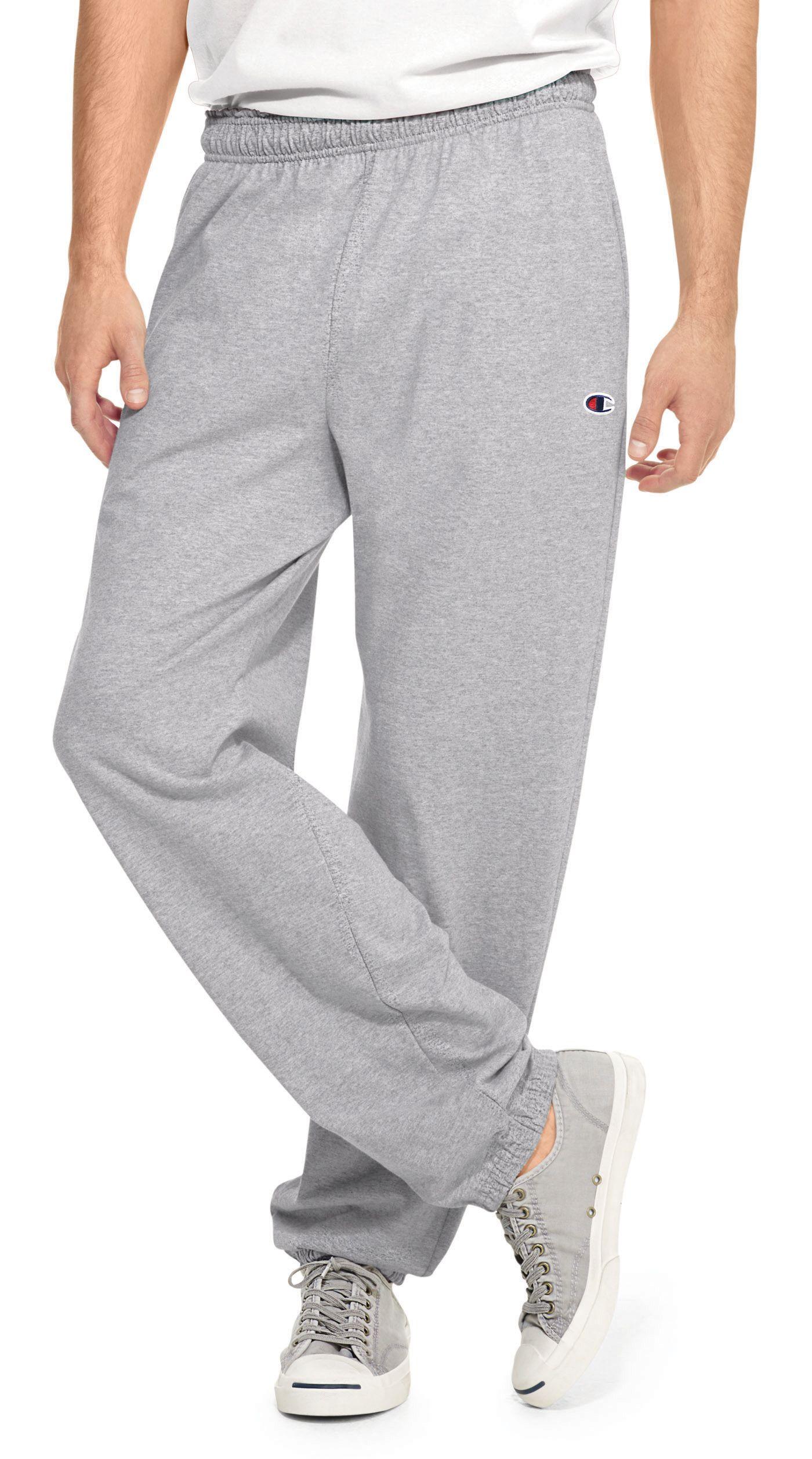 Champion Men's Closed Bottom Jersey Pants
