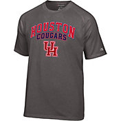 Champion Men's Houston Cougars Grey T-Shirt