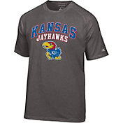 Champion Men's Kansas Jayhawks Blue T-Shirt