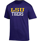 Champion Men's LSU Tigers Purple T-Shirt