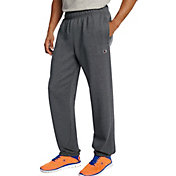 Champion Men's Powerblend Fleece Relaxed Bottom Pants