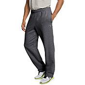 Champion Men's Powerblend Fleece Open Bottom Pants