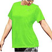 Champion Women's Plus Size Vapor Heather Print T-Shirt