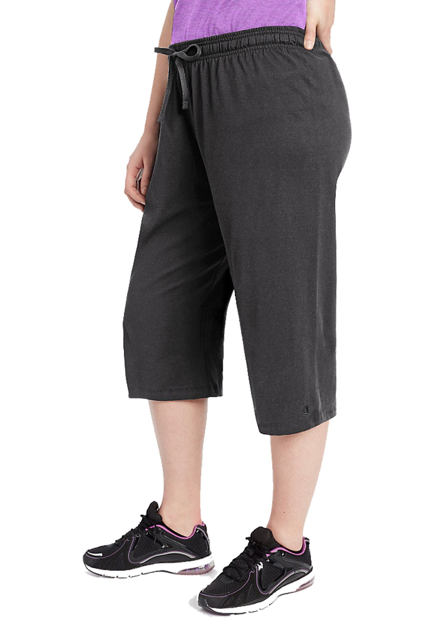 Champion Women's Plus Size Jersey Capris