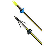 Cajun Piranha Yellow Jacket Carbon Bowfishing Arrow with Slide