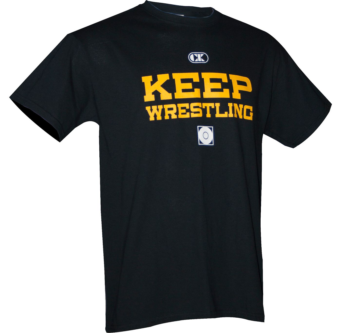 "Cliff Keen ""Keep Wrestling"" Short Sleeve Wrestling Shirt"
