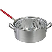 Cookout Supply 10.5 Quart Aluminum Pot with Basket