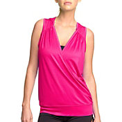 C92 Women's Drop Needle Drape Sleeveless Hoodie