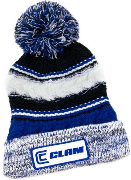 16b4afc0a86c5 Clam Knit Pom Beanie