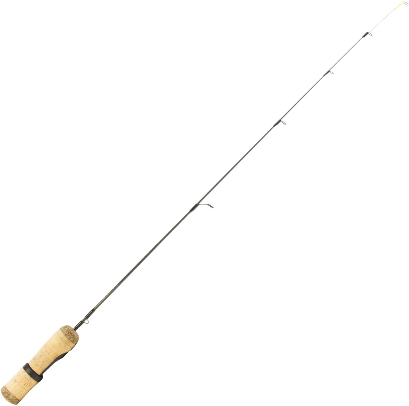 Clam Ice Team Professional Matt Johnson Pinfish Ice Fishing Rod with Spring Bobber