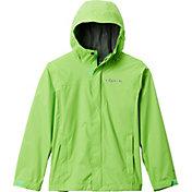 Columbia Boys' Watertight Rain Jacket in Green Mamba