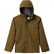 Columbia Boys' Watertight Rain Jacket in New Olive