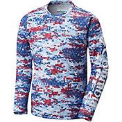 Columbia Boys' PFG Super Terminal Long Sleeve Shirt