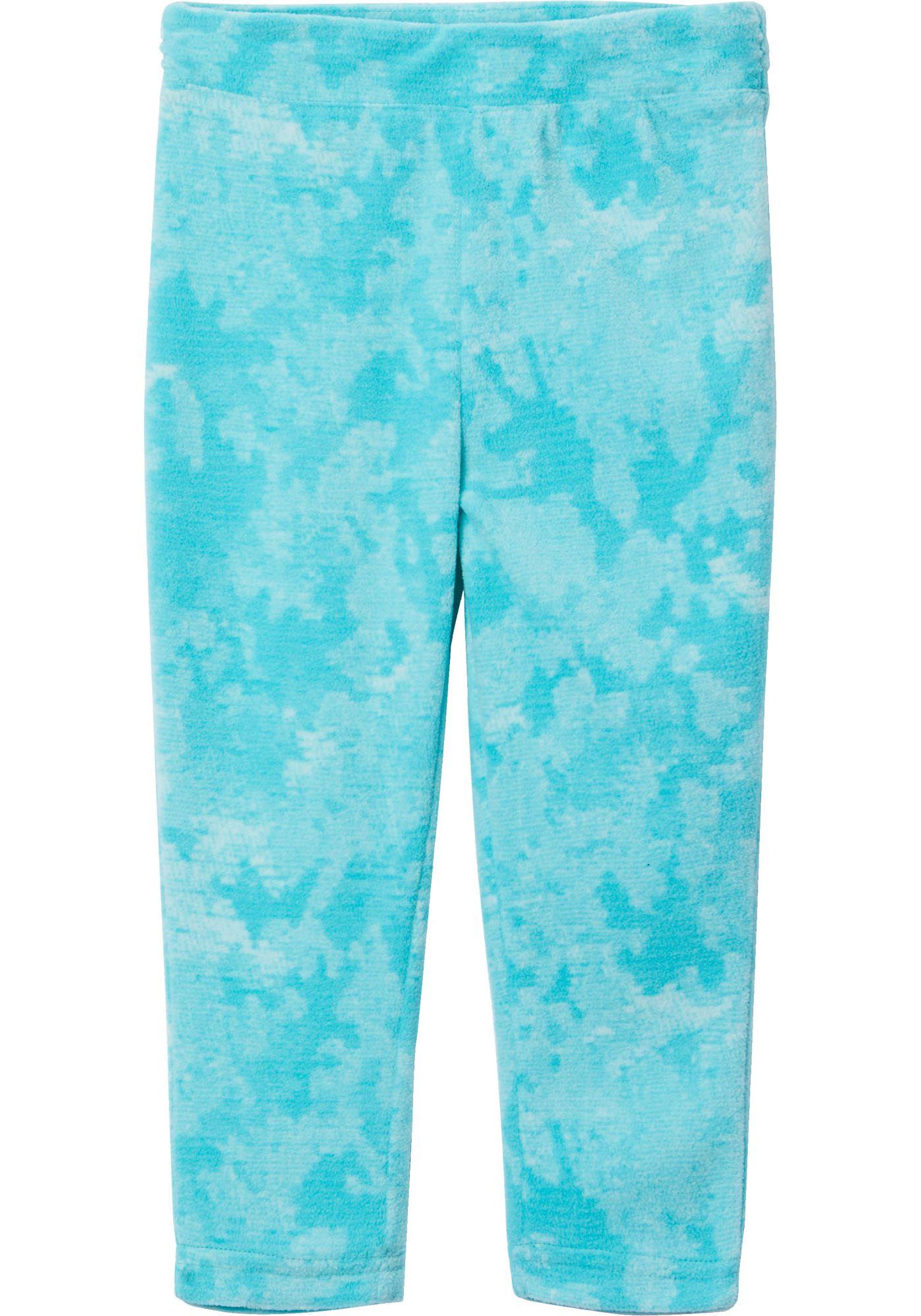 Columbia Girls' Glacial Printed Fleece Leggings
