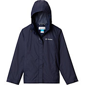 Columbia Girls' Arcadia Rain Jacket in Nocturnal
