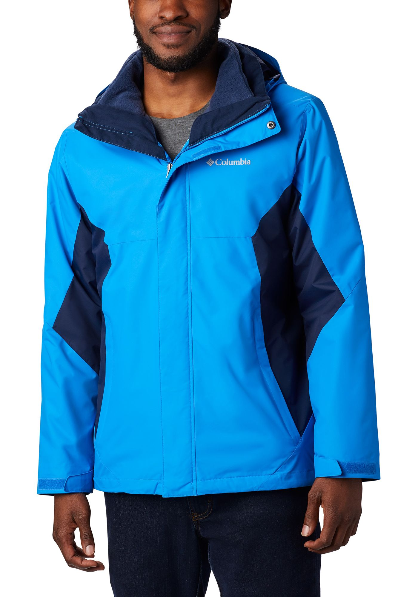 Columbia Men's Eager Air Interchange Jacket (Regular and Big & Tall)
