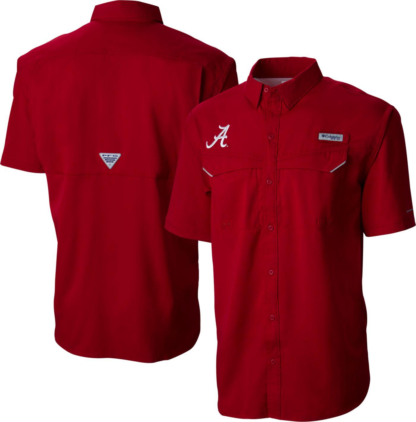 Columbia Men's Alabama Crimson Tide Crimson Low Drag Offshore Performance Shirt