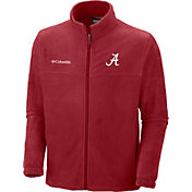 Columbia Men's Alabama Crimson Tide Crimson Flanker II Full-Zip Fleece Jacket