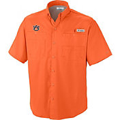 Columbia Men's Auburn Tigers Orange Tamiami Performance Shirt