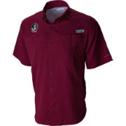Columbia Men's Florida State Seminoles Garnet Tamiami Performance Shirt